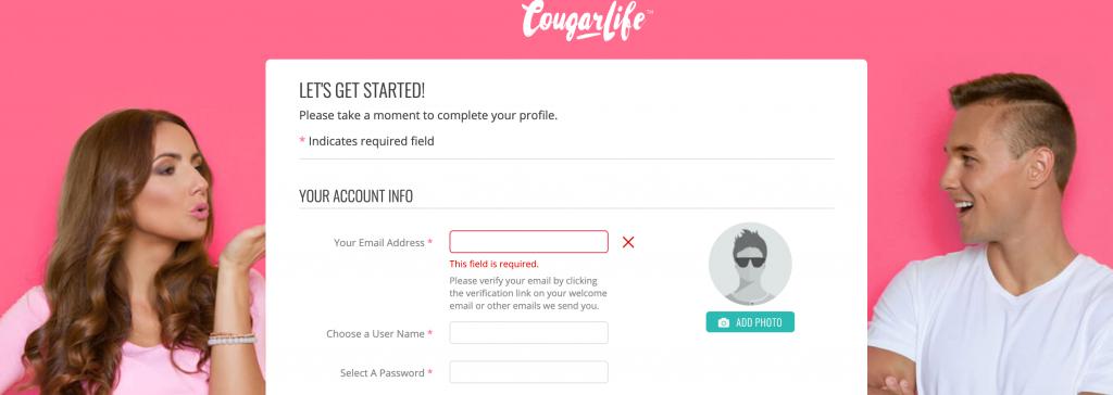 CougarLife registration