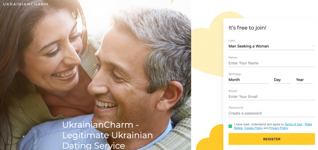 UkrainianCharm main page