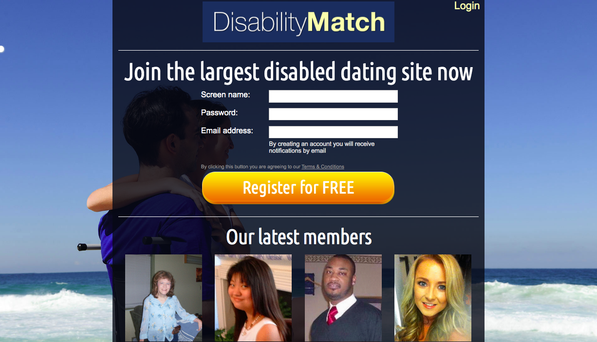 main page DisabilityMatch