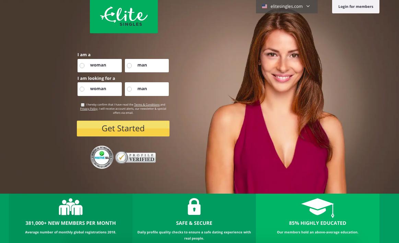 main page EliteSingles