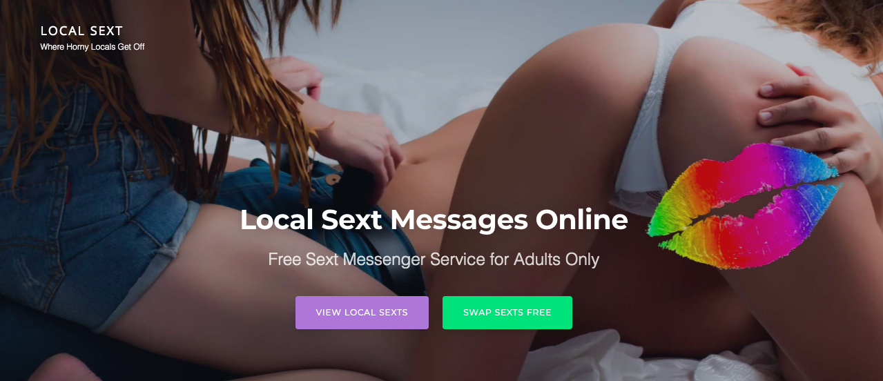 main page LocalSext