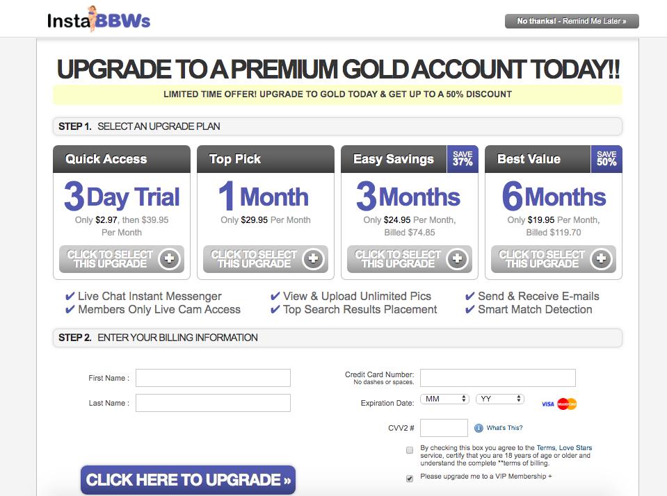 premium account InstaBBWS