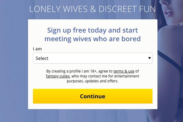 create account LonelyWifeHookup