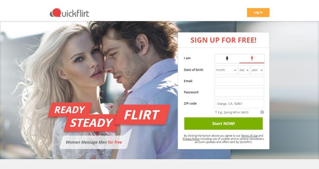 main page QuickFlirt